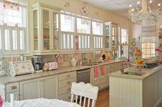 romantische Vintage Küche 8