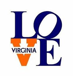 Virginia is for Lovers #UVA This isn't my school, but it's my current home- and this is cute