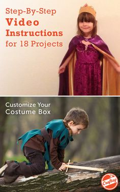DIY Halloween costumes made simple, on Craftsy.com. Get step-by-step, easy to follow video tutorials for 18 different projects.