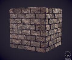 ArtStation - Brick Wall, Sean Marino