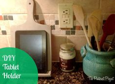 The Pinterest Project: DIY Tablet Holder