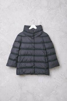 Piumino Polar Tech Nero #Herno #HernoCoats #HernoJacket #PiuminiHerno #fashion #style #newin #shopping #ArchivioStore