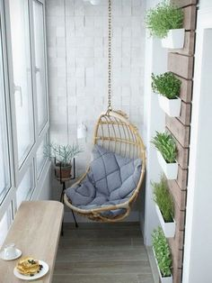 Small Apartment Organization - Comfy Apartment Balcony Decorating Ideas on A Budget Apartment Balcony Decorating, Apartment Balconies, Cool Apartments, Apartment Living, Studio Apartment, Bedroom Apartment, Apartment Ideas, Decorating Small Apartments, Apartment Patios