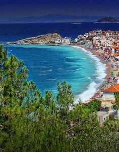 Note to self: Live somewhere in this vicinity. Kokkari, Samos Island