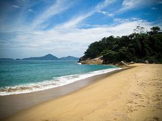 Yep this is where I used to vacation Ubatuba, Brazil. Now 10inches of snow! Gotta love NJ