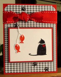 Kitty card for a special Neice by AudreyAnn - Cards and Paper Crafts at Splitcoaststampers