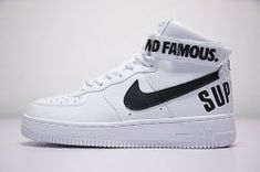 Men s Nike Air Force 1 SP HIGH SUP 698696-100 Boys Casual Shoes Sneakers  Boys f6e67f26803f