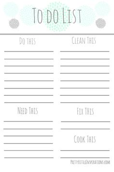 Sometimes we have so much to do it is hard to keep track of it without a list - don't have a grab To Do List here are 10 Rad Free To Do List Printables! To Do Lists Printable, Printable Planner, Free Printables, Freebies Printable, Planner Pages, Weekly Planner, Planner Journal, Planner Inserts, Planner Ideas