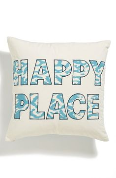 Nordstrom at Home 'Happy Place' Pillow available at #Nordstrom