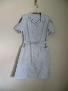 Vintage 1950's Nurses Uniform with Accessories. $25.00, via Etsy.