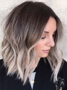 27 Latest Medium Length Hairstyles With Ash Highlights 2018