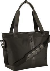 Nike Techshield Bonded Tote BagAuthentic NikeQuilted interior laptop sleeveWater resistant protectionMain compartment pockets with secure closures offer small item organizationImported Nike Tech, Beach Tote Bags, Black Tote, Green Bag, Leather Handle, Black Nikes, Nike Women, Purses, Shoe Bag