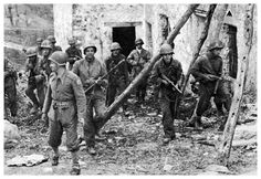 Brazilian soldiers in the Gotic Line