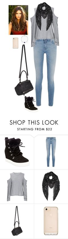 """""""Untitled #53"""" by kisyakiki ❤ liked on Polyvore featuring Steve Madden, Givenchy, Yves Saint Laurent and Pandora"""