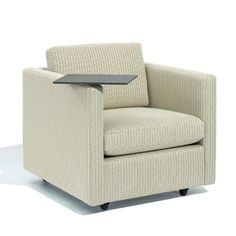 Pfister Petite Lounge Chair with Optional Tablet Arm