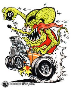 Ed Big Daddy Roth, & Rat Fink