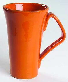 Vietri orange mug