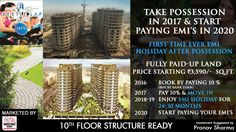 """Beetle Lap will be ideal destination for the young millennials of Delhi NCR.  """"Take Possession In 2017 & Start Paying EMI's In 2020"""" !!  2016: Book by paying 10%. 2017: Pay 10% & MOVE-IN. 2018-19: Enjoy EMI Holiday For 24-30 Months, 2020: Start Paying Your EMI's  For more information about the project, give us a call at +91 9250401940.  #realestate #BeetleLap #property #construction"""