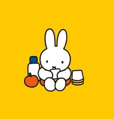 """""""The tent felt nice and cosy as Miffy munched away. But then she heard a noise though what was it she couldn't say. Kid Character, Character Design, Snoopy Wallpaper, Pocket Edition, Miffy, Illustrations And Posters, Design Crafts, Cute Drawings, Cute Wallpapers"""