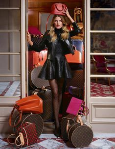 Dree Hemingway for Louis Vuitton - Fall/Winter 2013 campaign....
