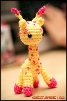 This pattern has been discontinued... would love to find the pattern, or try to make one similar, look how cuuuuttttte she is...