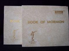 Book of Mormon 35 Record Set Gold Plate Edition Vinyl by Covenant Recordings LDS #LDSMormon
