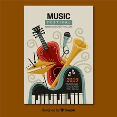 Hand drawn music festival poster Free Ve. Musikfestival Poster, Arte Do Piano, Vintage Typography, Vintage Logos, Retro Logos, Music Drawings, Jazz Art, Festival Posters, How To Draw Hands