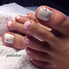 How to Get Your Feet Ready for Summer - 50 Adorable Toe Nail Designs 2019 - . How to Get Your Feet Ready for Summer - 50 Adorable Toe Nail Designs Swoon-Worthy Hairdos for Long Hair - Long Haircut - Cute Toe Nails, Toe Nail Art, Pretty Nails, Beach Toe Nails, Pretty Pedicures, Bridal Toe Nails, Acrylic Toe Nails, Simple Toe Nails, Pretty Toes