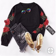 Grunge Outfits, Trendy Outfits, Cool Outfits, Summer Outfits, Fashion Outfits, Womens Fashion, Character Outfits, Polyvore Outfits, Types Of Fashion Styles
