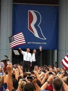 """Day one of the """"Romney Plan for a Stronger Middle Class Bus Tour"""" on  the USS Wisconsin"""