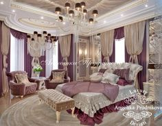 Dream Rooms, Dream Bedroom, Home Bedroom, Bedroom Decor, Elegant Home Decor, Elegant Homes, Futuristic Bedroom, Bed Design, House Design
