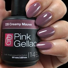 Pink Gellac Color 228 Creamy Mauve