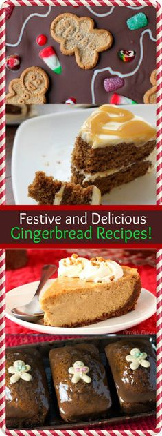 Festive and Delicious Gingerbread Desserts