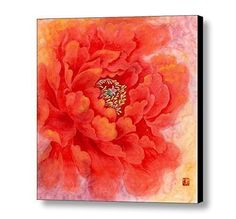 Flower Wall Art, Watercolor Painting Print -Art Print- Canvas Art- Flower Painting-Chinese art. Art print of my original art. The print are produced on state-of-the-art, professional-grade Epson printers. Using acid-free canvases with archival inks to guarantee that your prints last a lifetime without fading or loss of color. About The Shipping: It will be safely wrapped and come roll to your place. Fast delivery, 7-15 or less days arrive to your place via DHL, UPS, FEDEX, EMS. .