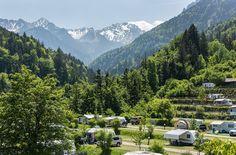 Camping in Nenzing, mitten in den Alpen Österreichs Austria, Wellness, Mountains, Holiday, Travel, Budget, Retro, Random, Europe