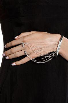 BLISS LAU  Suspension Bracelet in Silver