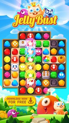 #jellybust #androidgames #match3 #matching #match3games #matchthree #puzzle…