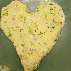 Dough for chickpeas/onion/yogurt/cilantro roti with multigrain flour. It was a triangle so I had to make it a heart no? #love is everything. #healthyeating #diabetes #indianflatbread #yum #homefood #protein