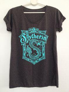 Slytherin Hogwart Alumni Harry Potter t-shirt by rainbowtshirt