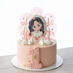 Buttercream Cake, Fondant Cakes, Homemade Lollipops, Cookie Cake Designs, Baby Girl Birthday Cake, Lollipop Cake, Tooth Cake, Cake Decorating Frosting, Balloon Cake