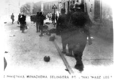 Krakow, Poland, Deportation of Jews from the ghetto by SS troops. They will be sent extermination camp and then to their death by gas