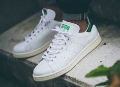 Adidas Stan Smith Vintage, Men Clothes, Men's Shoes, Adidas Sneakers, Kicks, Green, Image, Fashion, Tennis
