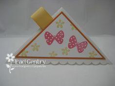 corner bookmark using an envelope