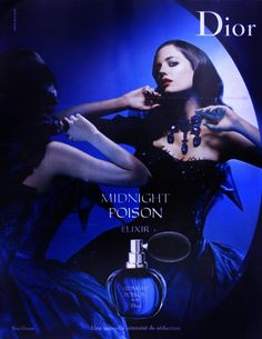Eva Green Presents Midnight Poison Perfume by Dior Perfume Dior, Perfume Glamour, Dior Fragrance, Eva Green, Christian Dior, Dior Couture, Gabriel Chanel, Outfits, Perfume Collection