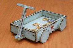 Винтажная тележка для игрушек http://dcpg.ru/mclasses/telezhka/ Click on photo to see more! Нажмите на фото чтобы увидеть больше! decoupage art craft handmade home decor DIY do it yourself tutorial acrylic paint varnish