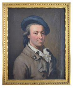 Remarkable #portrait of a gentleman. #Oil on #canvas. Early #19th century. For sale on Proantic by Marseille Antiquites.