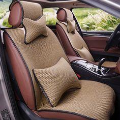 Yuzhe Linen car seat cover For Audi A6L Q3 Q5 Q7 S4 A5 A1 A2 A3 A4 B6 b8 B7 A6 c5 c6 A7 A8 car accessories styling cushion