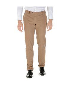 Pantalone regular uomo  marrone CANALI 12880 Marrone - titalola.com