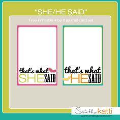 awesome free printables from @Smitha Katti