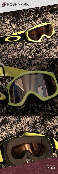 d9a02084ce Oakley Neon Ski Snowboard Goggles Lightly used. Oakley Accessories Snowboard  Goggles